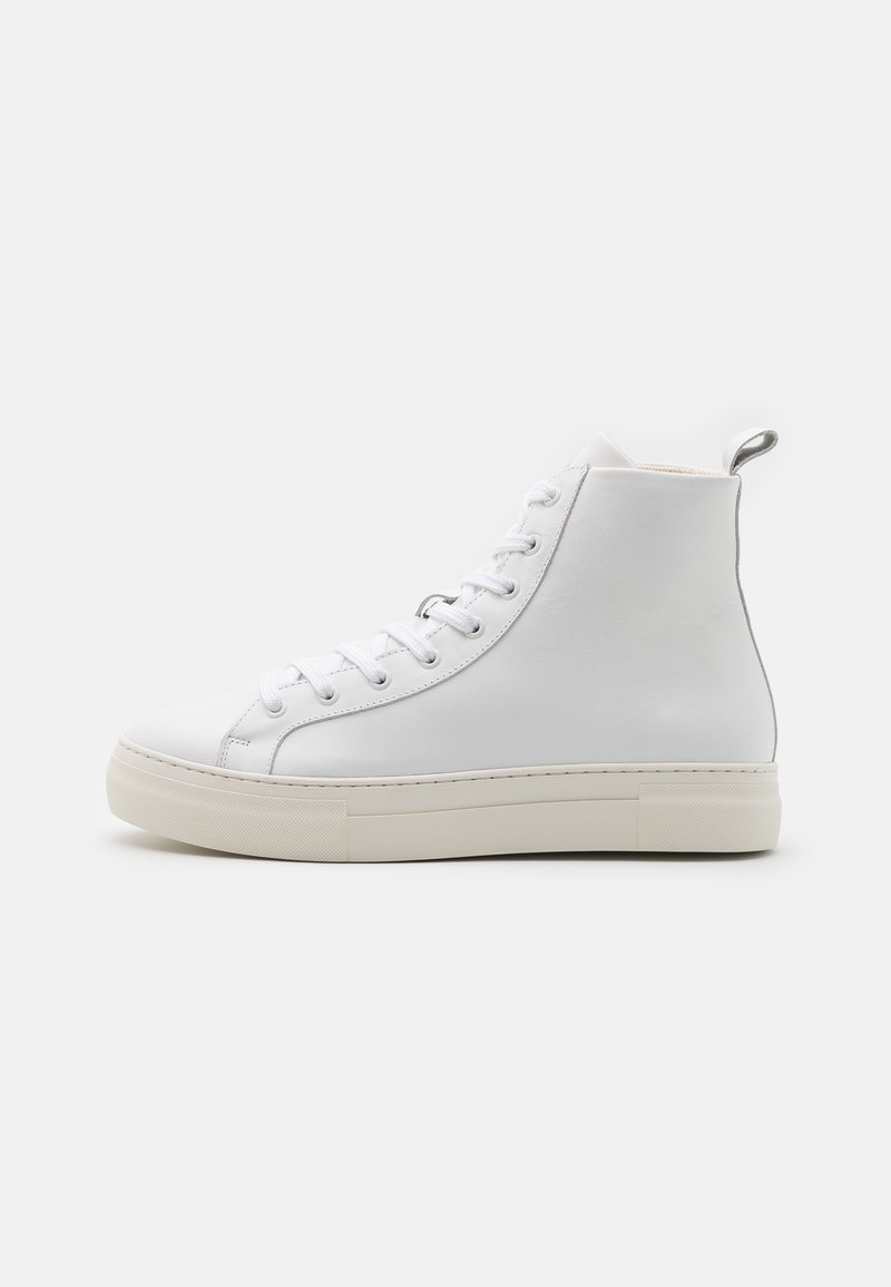 Selected Homme - SLHDAVID CHUNKY TRAINER  - High-top trainers - white