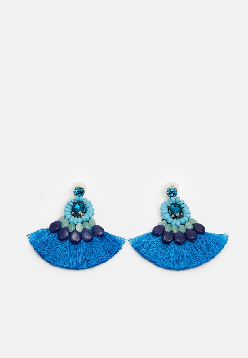 J.CREW - ZUNI ZUN EARRINGS - Earrings - peacock feather