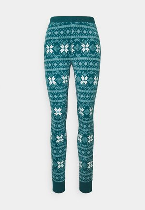 LEGGING FAIRISLE - Pyjama bottoms - atlantic deep