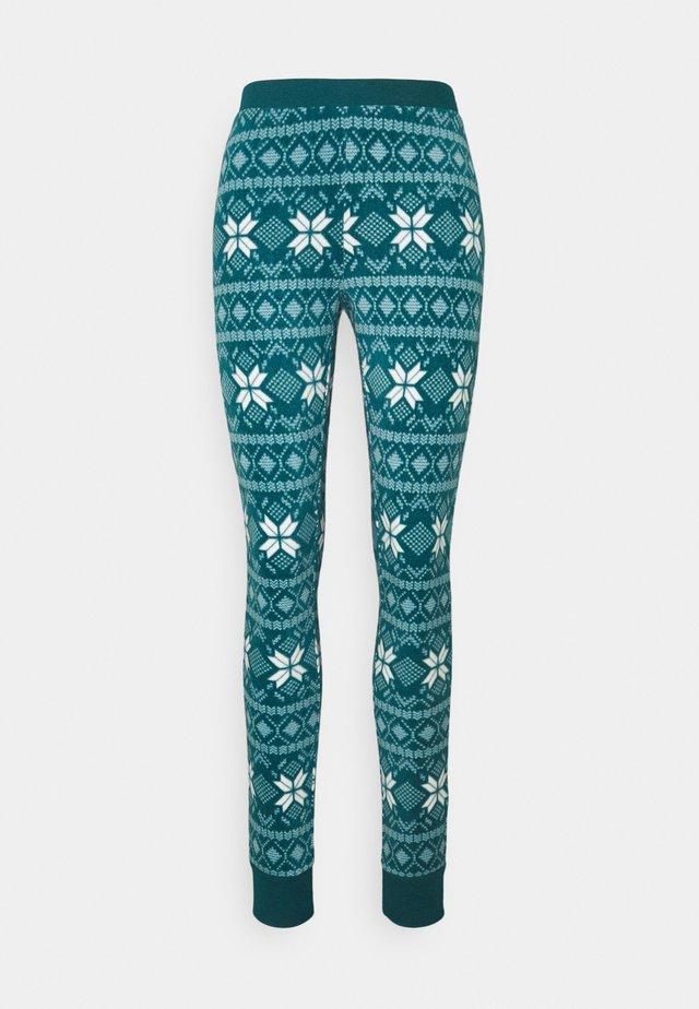 LEGGING FAIRISLE - Pyjama bottoms - atlantic deep