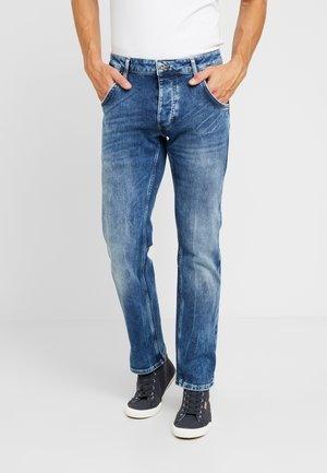 MICHIGAN - Jeansy Straight Leg - dark blue denim
