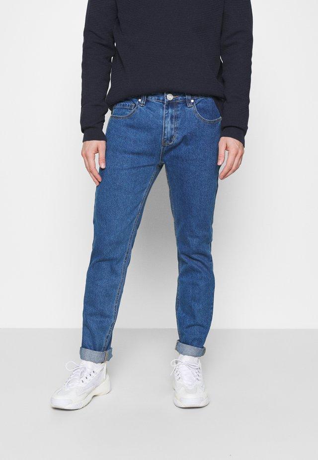 Jean droit - mid blue