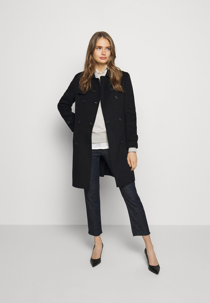 Lauren Ralph Lauren - DOUBLE FACE - Classic coat - black