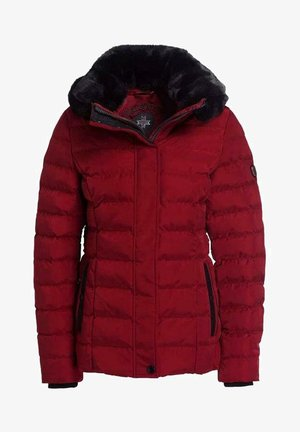 Winter jacket - darkred