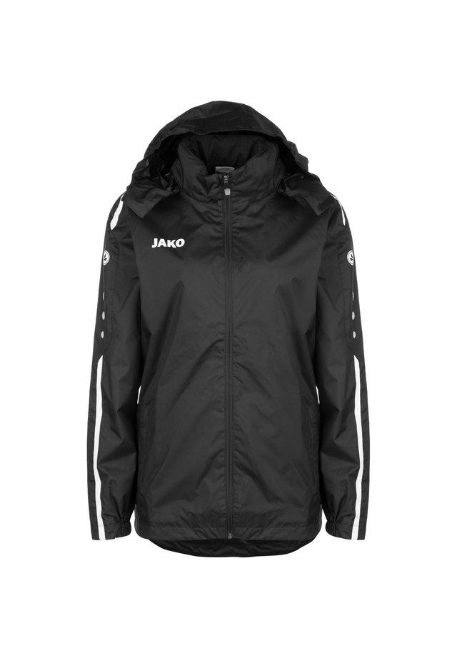 STRIKER 2.0 ALLWETTERJACKE HERREN - Outdoor jacket - schwarz / weiss