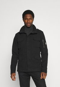 Superdry - CLASSIC ROOKIE  - Summer jacket - washed black - 0