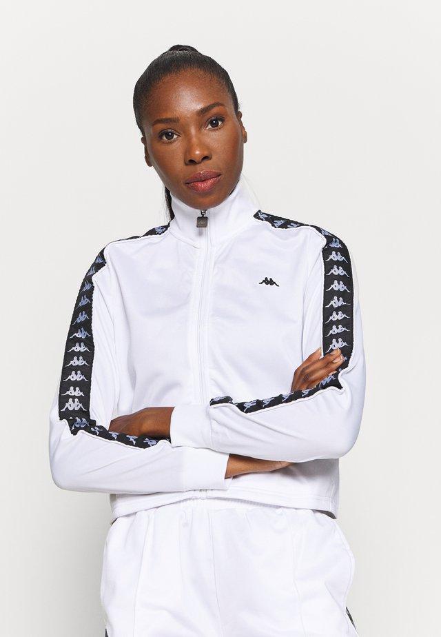 HASINA - Kurtka sportowa - bright white
