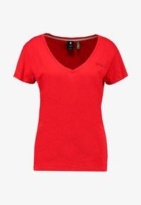 G-Star - GRAPHIC LOGO - T-shirt - bas - acid red - 3
