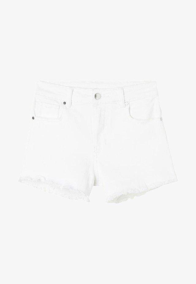 Jeans Shorts - bianco