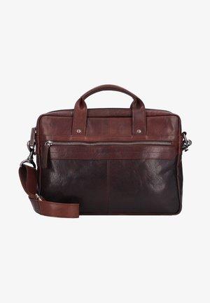 Laptop bag - darkbrown