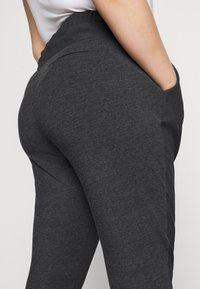 Kaffe Curve - KCJIA PANTS - Pantalon classique - dark grey ange - 6