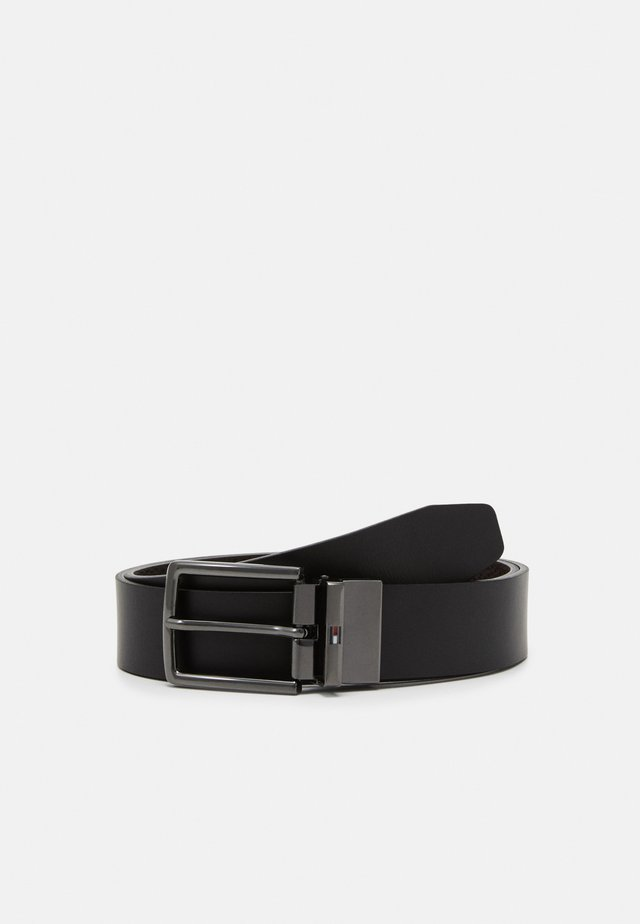 DENTON GIFTBOX - Belt - black/testa di moro