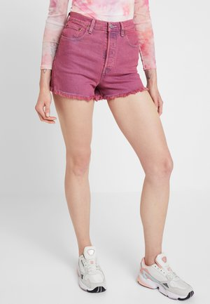 RIBCAGE  - Denim shorts - pink