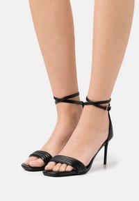 Even&Odd Wide Fit - Sandals - black - 0