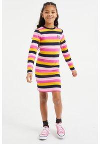 WE Fashion - Vestido de punto - multi-coloured - 0