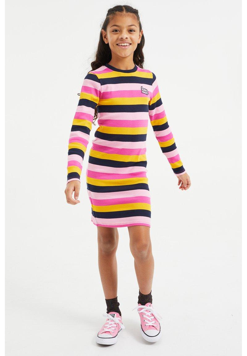WE Fashion - Vestido de punto - multi-coloured