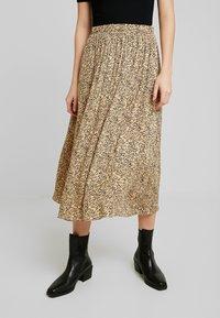 Soft Rebels - SRAVIAJA MIDI SKIRT - A-line skirt - warm sand - 0
