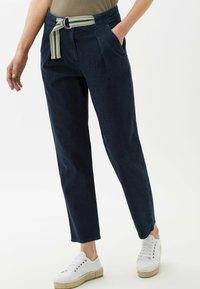 BRAX - Trousers - clean shadow blue - 0
