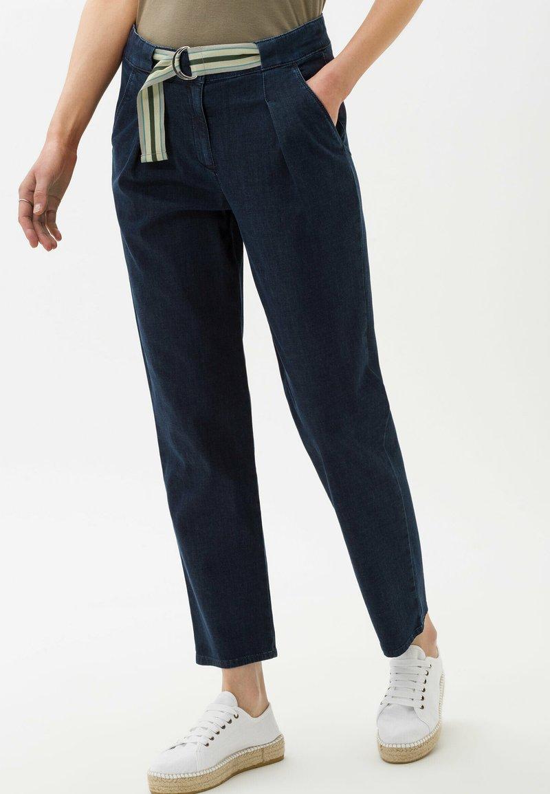 BRAX - Trousers - clean shadow blue