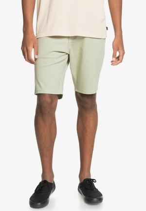 Denim shorts - desert sage
