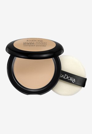 VELVET TOUCH SHEER COVER COMPACT POWDER - Pudder - warm sand