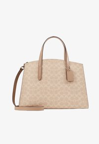 Coach - CHARLIE CARRYALL - Kabelka - sand taupe - 4