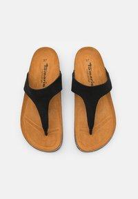 Tamaris GreenStep - T-bar sandals - black - 5