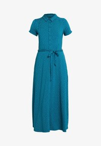 King Louie - MIDI DRESS LITTLE DOTS - Jerseykjole - lapis - 5