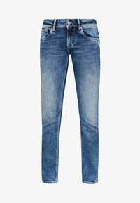 HOLLY - Džíny Straight Fit - stone blue denim