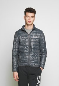 EA7 Emporio Armani - Down jacket - iron gate - 0