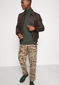 Schott - CALIFORNIA - Leather jacket - brown - 3