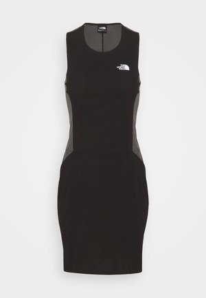 CIRCADIAN DRESS - Jersey dress - black