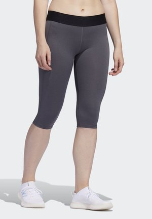 Alphaskin Leggings - 3/4 sports trousers - Grey