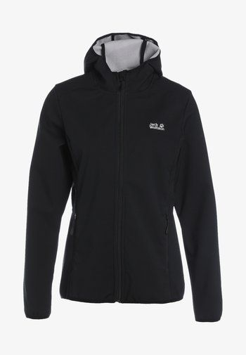 NORTHERN POINT - Soft shell jacket - black