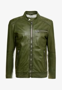 Freaky Nation - LUCKY JIM - Leather jacket - cypriss - 3
