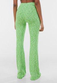 Bershka - Leggings - Trousers - green - 2