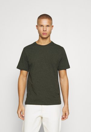 TEE - T-shirt - bas - sequoia/heather/black