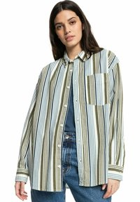 Quiksilver - Button-down blouse - surfing retreat stripe flclove - 2