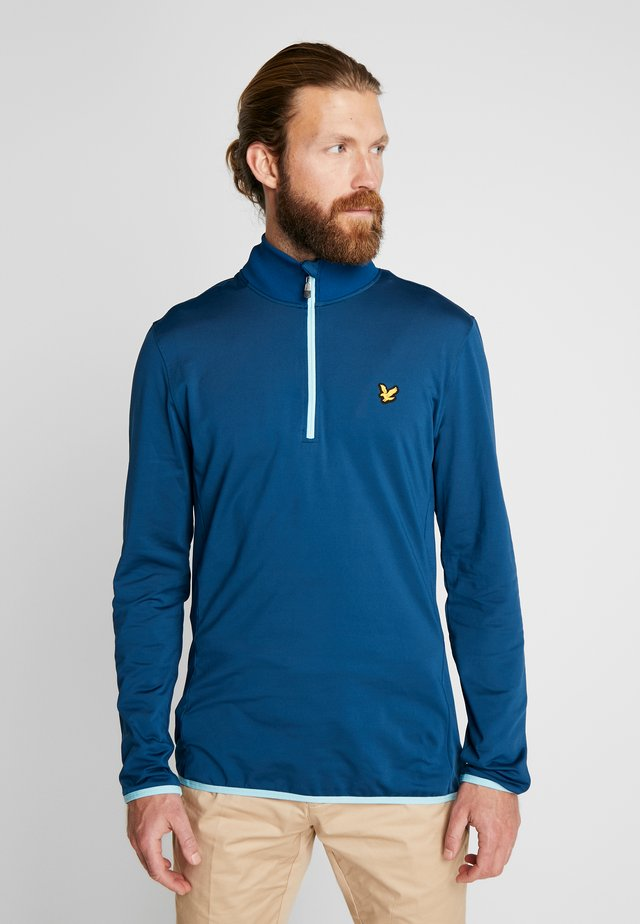 TECH ZIP MIDLAYER - Sweat polaire - deep fjord