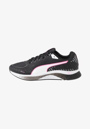 SPEED SUTAMINA 2 - Zapatillas de running neutras - black/white/luminous pink