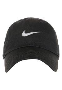 Nike Sportswear - SWOOSH HERITAGE86 - Caps - black/wolf grey - 3