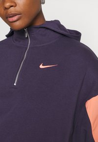 Nike Sportswear - HOODIE - Sweatshirt - dark raisin/crimson bliss/bright mango - 5