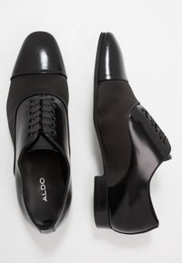 ALDO - GREENWAYS - Smart lace-ups - black - 1