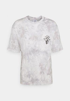 CUSTOM TIE DYE TEE - Print T-shirt - black