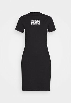 NARCISSA - Žerzejové šaty - black