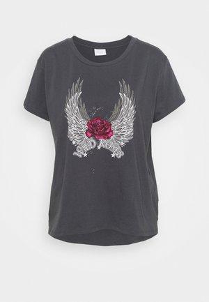 VIROCKSY ROCK  - T-shirts print - asphalt