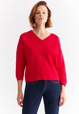 BUENA - Trui - raspberry red