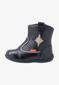 Kickers - BIBOOTS - Classic ankle boots - navy metallic - 1