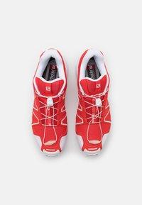 Salomon - SPEEDCROSS 3 UNISEX - Sneakers basse - racing red/white - 3