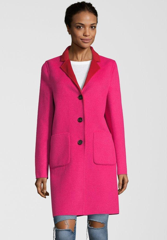 LEON - Classic coat - red/pink